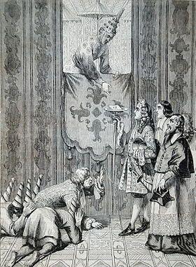 Alexandre de Chaumont, audience solennelle, 3