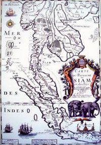 1686FrenchMapOfSiam