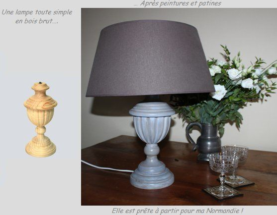 lampe grise