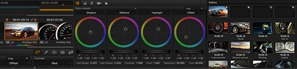 DAVINCI RESOLVE 10 intercalaire