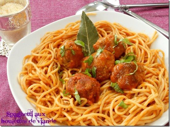 spaghetti aux boulettes de viande la cuisson al dente des p tes blogs de cuisine. Black Bedroom Furniture Sets. Home Design Ideas