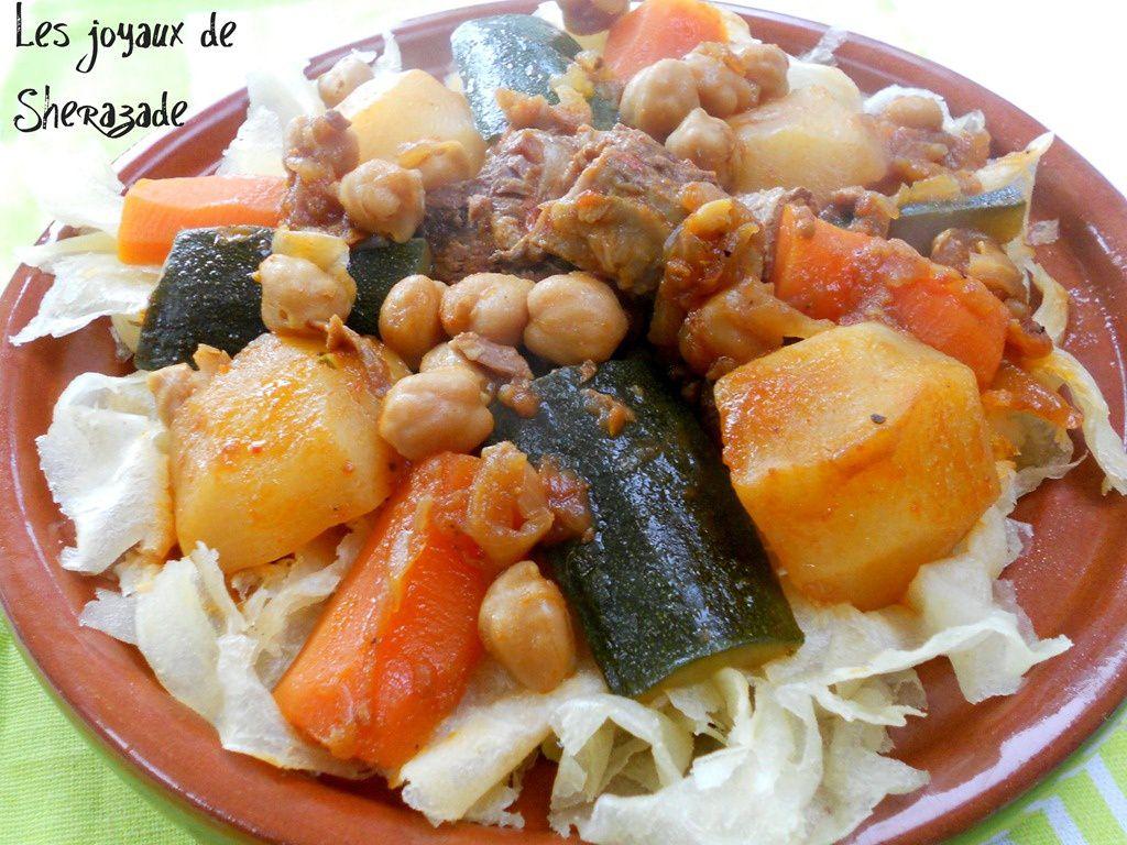 Chakhchoukha biskria recette chakhchoukha de biskra les - Blog cuisine algeroise ...