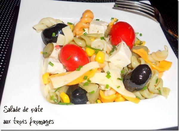 salade de pate aux fromages