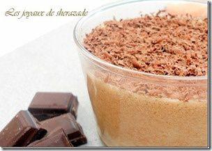 mousse au chocolat praliné