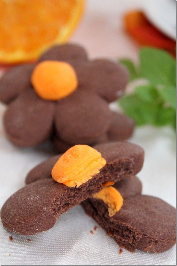 biscuit fondant à l'orange