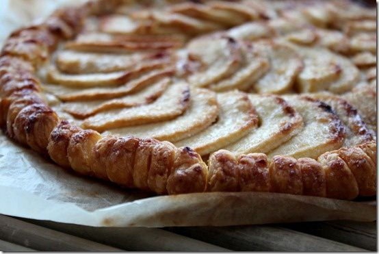 tarte fine au pommes