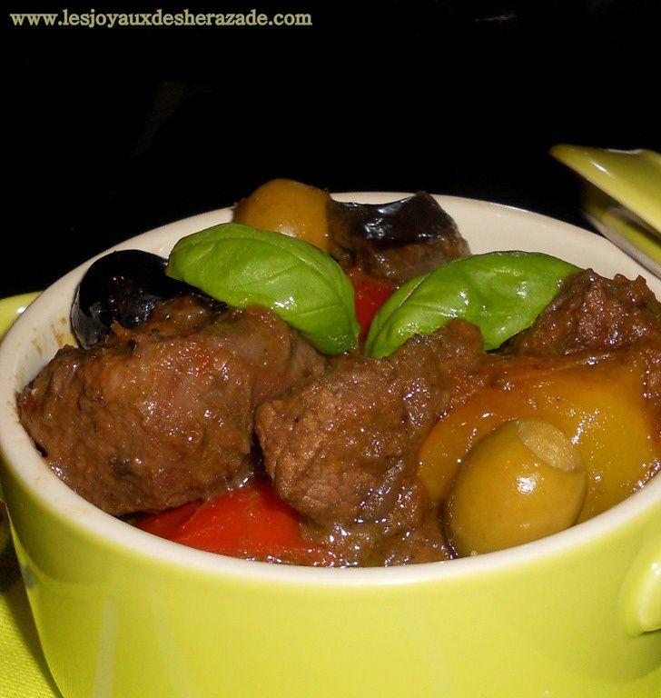 B uf proven al les joyaux de sherazade recette de for Cuisine facile et originale