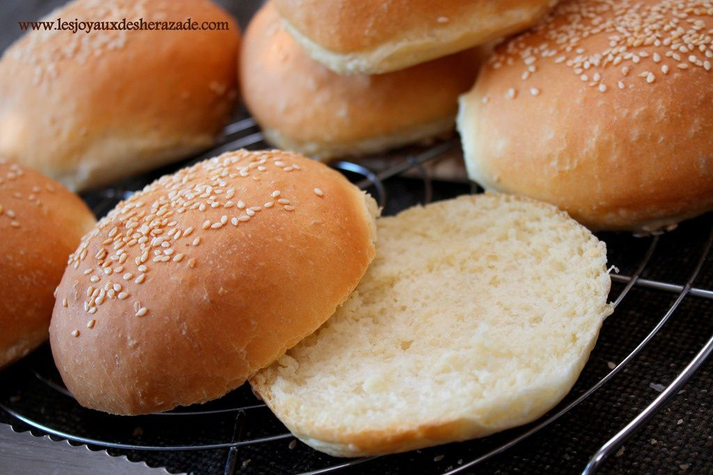 Pain Hamburger Maison Les Joyaux De Sherazade