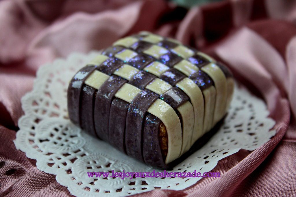 Gateau traditionnel moderne algerien