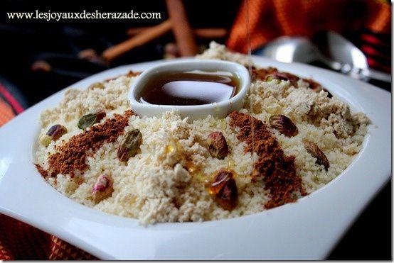 recette algerienne, recette de seffa