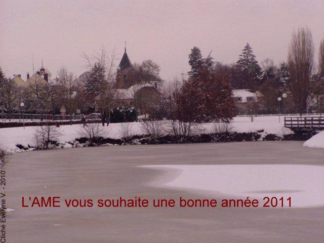 L'AME de Condé-sur-Vesgre vous souhaite une bonne année 2011 !