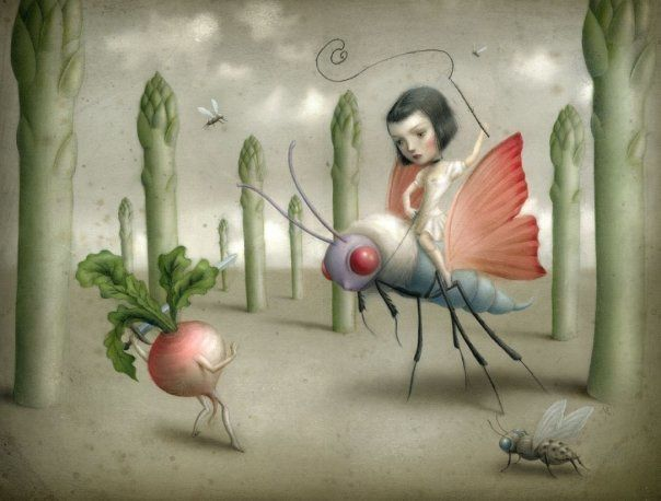 Nicoletta Ceccoli illustration fantastique