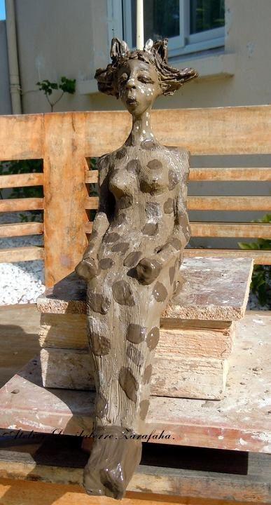 Sculpture Céramique Zarafaha