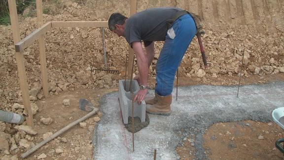 Le libage autoconstruction maison bois for Autoconstruction maison bois