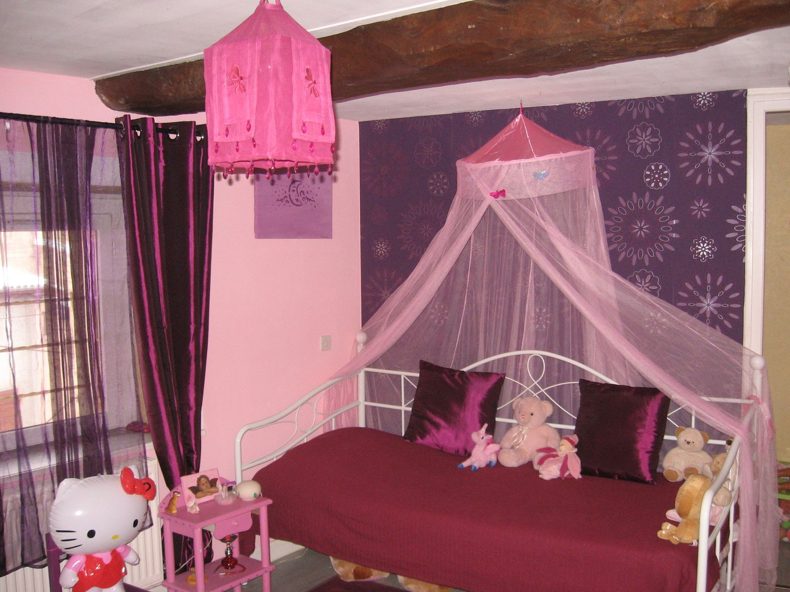 Awesome chambre de princesse adulte pictures lalawgroup for Chambre princesse