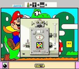 chargement Mario Paint