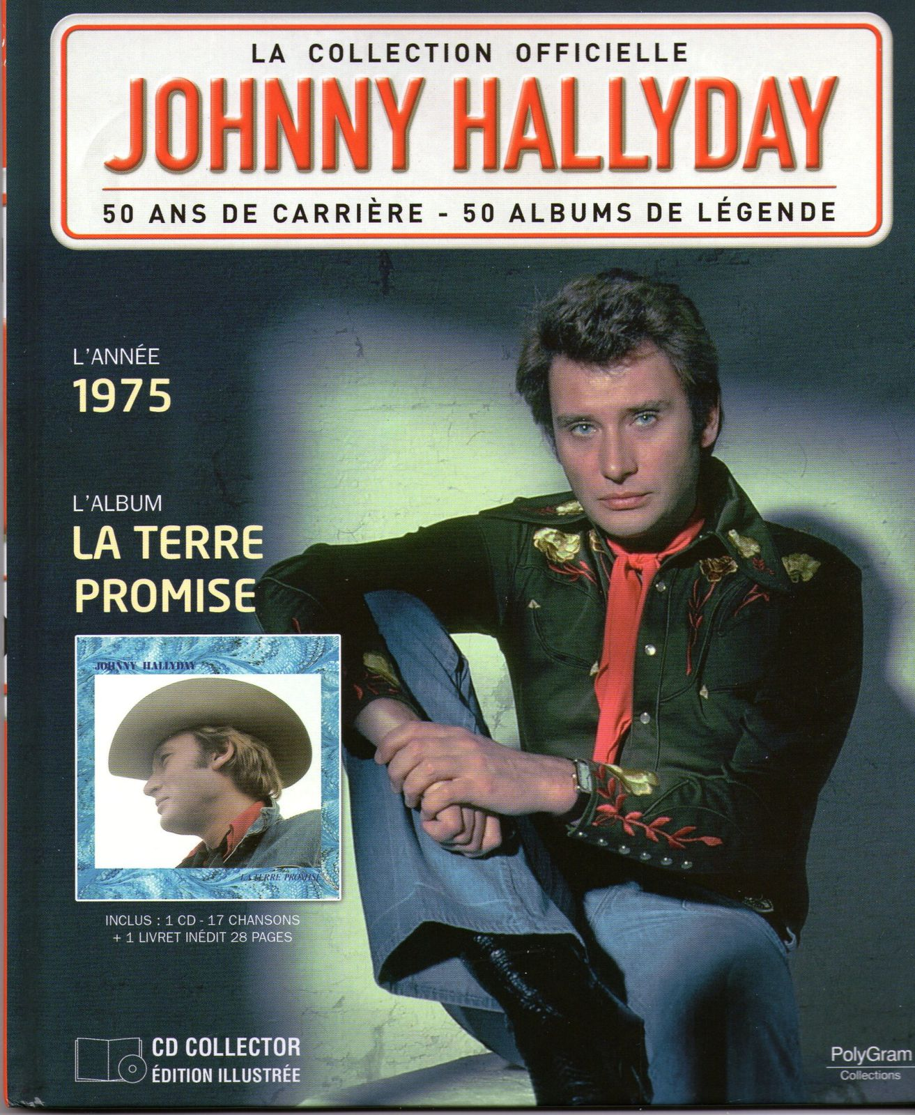 la collection officielle johnny hallyday 50 ans de carrière 50 albums de légende