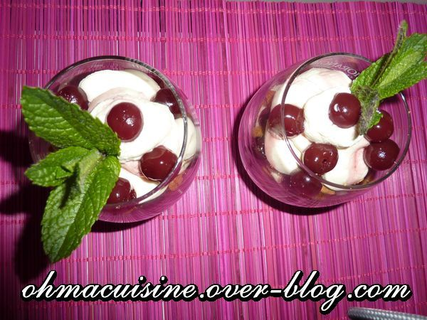 Trifle griottes