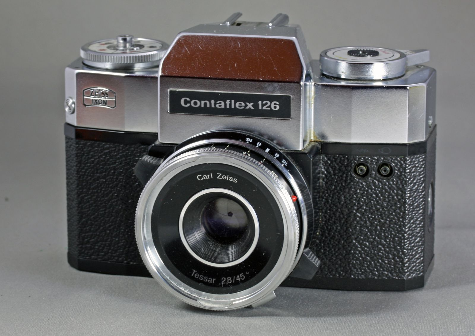 Zeiss-Ikon, Contaflex 126  - Le blog de fotobox over-blog fr