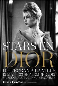 Bardot (Affiche Stars en Dior)