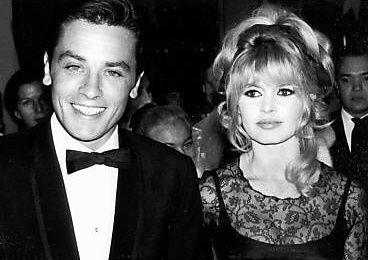 1965/01 - Brigitte et Alain Delon