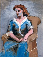 19b Picasso Woman Seated sm