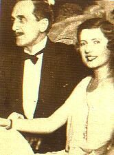 Frank Jay Gould (1877-1956) and his wife, Florence La Caze