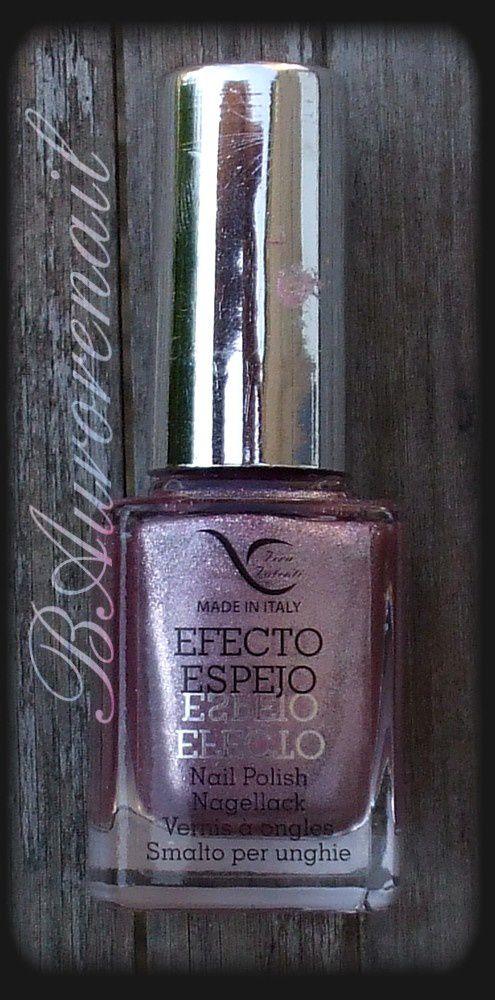 Swatch vernis effet miroir vera valenti rose les for Vernis a ongle effet miroir