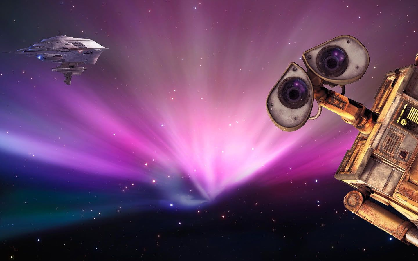 Wallpaper fond d 39 cran disney wall e le blog de for D wall wallpaper