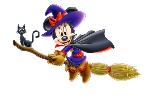 Render - Tubes - Disney - Minnie - Sorcière - Halloween ...