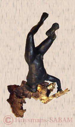 Sculpture Promethée, hauteur 18cm - Serge Huysmans, Repliqua 3D: sculpteur figuratif