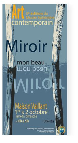 Exposition de l 39 artiste verri re le buisson les arts for Miroir 150x50