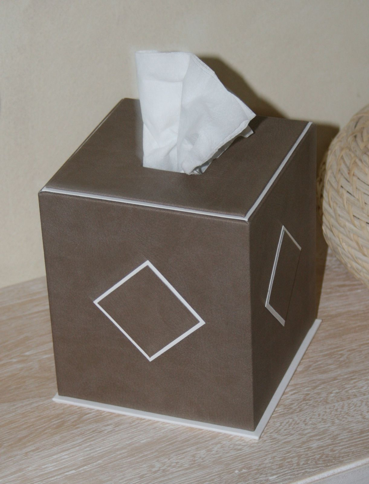 Decoration Boite Mouchoir Carton