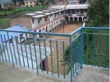 School viewed from Bungamati House