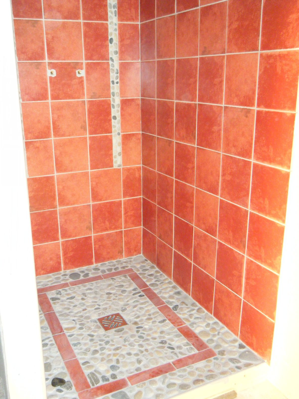 Album douche l 39 italienne tadelakt le blog de bill for Carrelage mauve salle bain