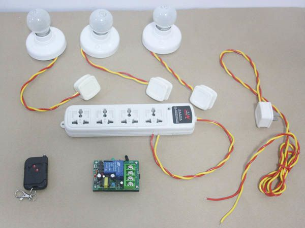 how to wireless remote control power outlet? coral home