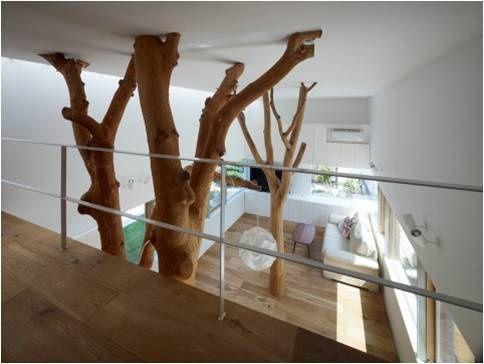 Inspirations deco autour de l 39 arbre for Faux olivier arbre