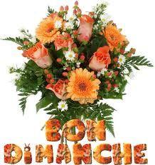 bon dimanche bouquet
