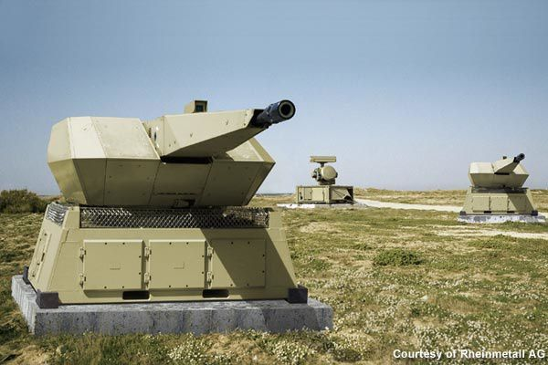 Rheinmetall Delivers Mantis Air Defence System To German