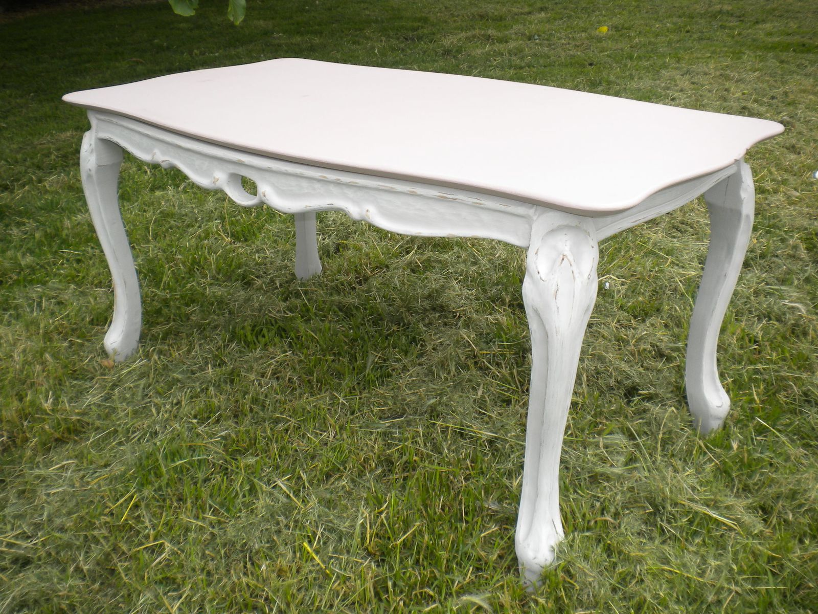 Table Basse Patine Lin Et Rose Ambiance Patine Relooking De