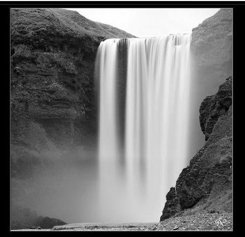 Islande Noir&Blanc