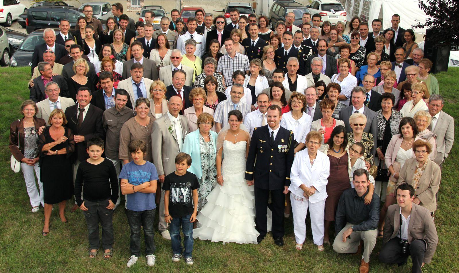 La mariée le 23 juillet