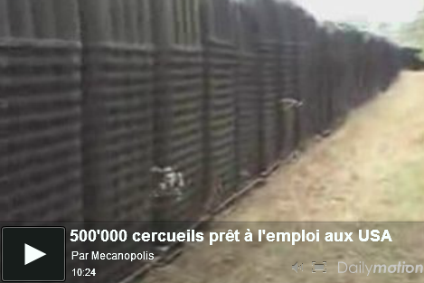 cercueil usa fema