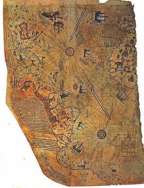 458px-Piri reis harita