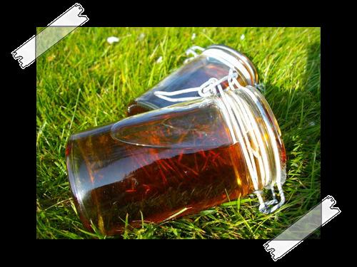 Sirop thé aux agrumes