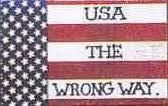 USA THE WRONG WAY 1X