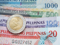 Currency converter to convert from United States Dollar (USD) to Philippine Peso (PHP) including the latest exchange rates, a chart showing the exchange rate history for the last days and information about the currencies.