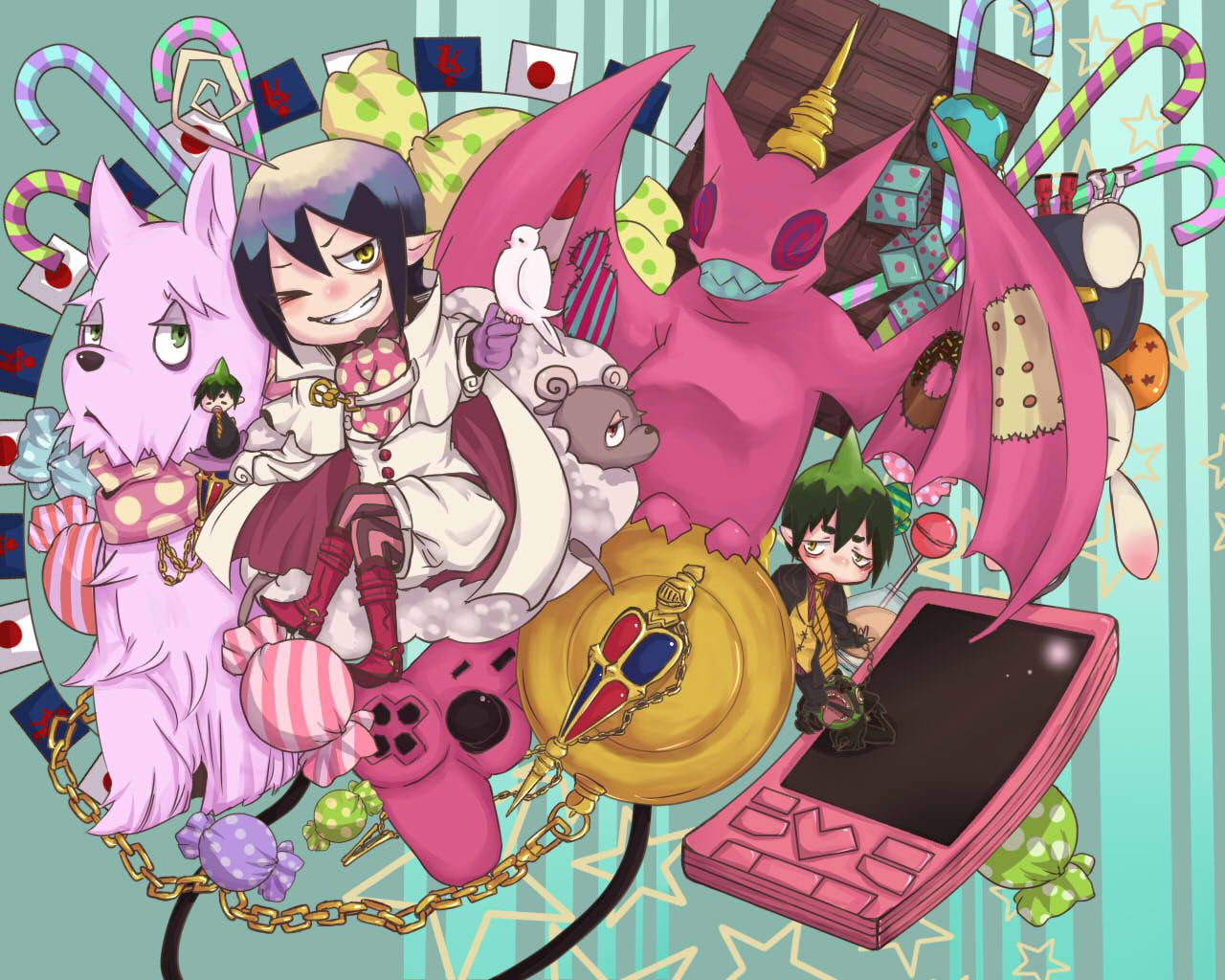 Ao No Exorcist Wallpapers Wonderland Wallpapers