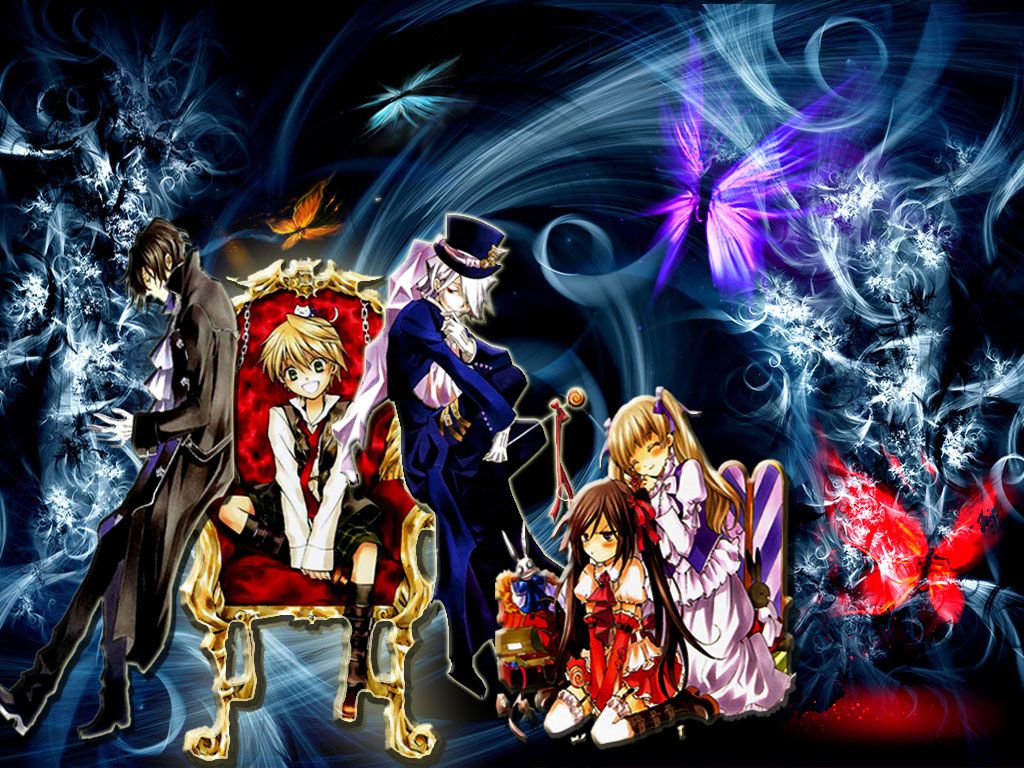PANDORA HEARTS WALLPAPERS !