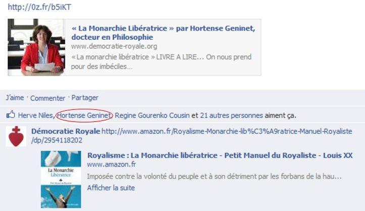 Hortense-Geninet- royalisme